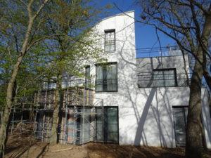 Chantier Le Vésinet - 78110 - pose fenêtres et baies vitrée - côté