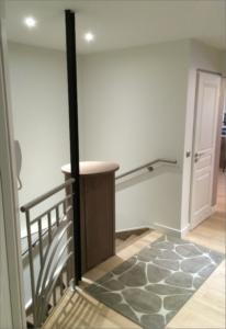 chantiers de renovation Carobois - les escaliers