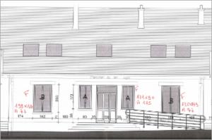 plan de masse visuel chantier de renovation